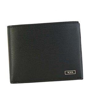 TUMI(トゥミ) 二つ折り財布(小銭入れ付) 119838 BLACK