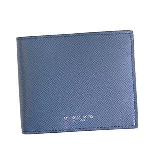 Michael Kors(マイケルコース) 二つ折り財布(小銭入れ付)  39F5LHRF3L 482 SEA BLUE