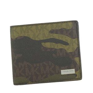 Michael Kors(マイケルコース) 二つ折り財布(小銭入れ付)  39F7MMNF3V 306 MILITARY