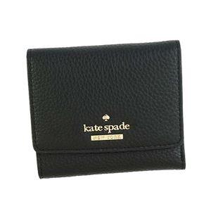 KATE SPADE(ケイトスペード) 三つ折り財布(小銭入れ付)  PWRU5594 1 BLACK