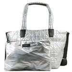 BEECOLLECTIVE(ビーコレクティブ )トートバッグ  101-202-301  METALLIC SILVER