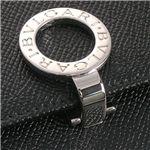 ブルガリ 23277 BVLGAR BK Wホック財布・ブラック