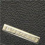 ブルガリ 22429 MOBILITY BK メンズ二つ折り財布・黒