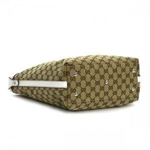 Gucci(グッチ) トートバッグ MATCH BALL 232970 8429 ベージュ/ホワイト H30×W34/30×D11