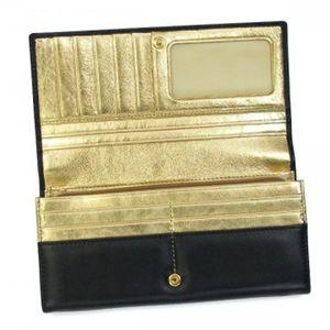Vivienne Westwood(ヴィヴィアンウエストウッド) 長財布 NAPPA CALF 1032V  ブラック/ゴールド H9.5×W19×D2.5