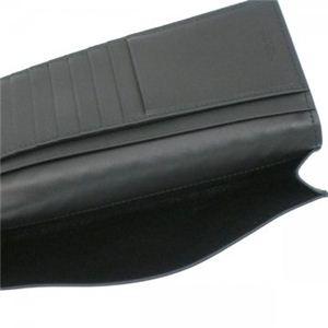 BOTTEGA VENETA(ボッテガベネタ) 長財布 P.FOGLIO INTRECCIATO 120697 1000 ブラック H9.5×W18×D2
