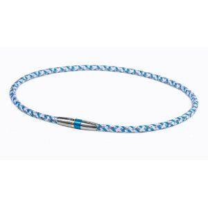 Phiten(ファイテン) RAKUWA ネック X50 ハイエンド III ブルー 50cm TG475253
