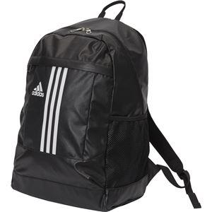adidas(アディダス) 3ストライプス Basic バックパック 30L BIP71 ブラック×ホワイト
