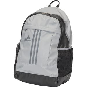 adidas(アディダス) 3ストライプス Basic バックパック 30L BIP71 クリアオニキス×グレー