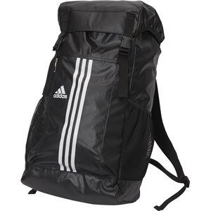 adidas(アディダス) 3ストライプス Basic バックパック 35L BIP73 ブラック×ホワイト
