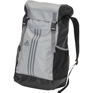 adidas(アディダス) 3ストライプス Basic バックパック 35L BIP73 クリアオニキス×グレー