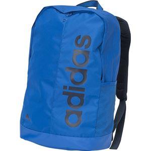 adidas(アディダス) リニア PER バックパック DEZ38 ブルー×ブルー×カレッジネイビー