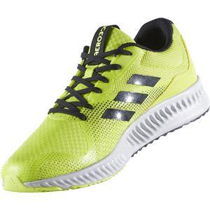 adidas(アディダス) ランニングシューズ BW1559 セミソーラーイエロー×コアブラック×グレーTWO 27cm