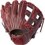 adidas(アディダス) Baseball 軟式カラーグラブ IT DUV03 ダークバーガンディ×スカーレット LH