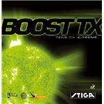 STIGA(スティガ) テンション系裏ソフトラバー BOOST TX(ブースト TX) ブラック 中厚