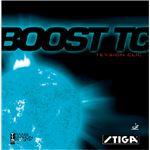 STIGA(スティガ) テンション系裏ソフトラバー BOOST TC(ブースト TC) ブラック 中厚