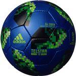 adidas(アディダス) ワールドカップ2018 テルスター18 グライダー 4号球 AF4304BG(ブルー×ブラック)
