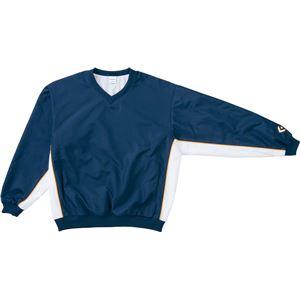 CONVERSE(コンバース) Vネックウォームアップジャケット ネイビー×ホワイト SS