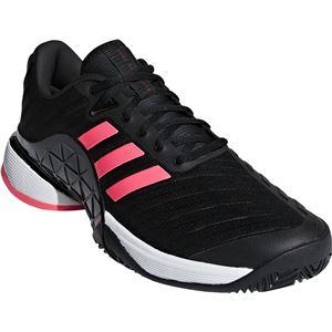adidas(アディダス) adidas Tennis BARRICADE 2018 AC コアブラック×コアブラック×フラッシュレッドS15 AH2092 【25.0cm】
