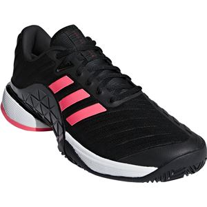 adidas(アディダス) adidas Tennis BARRICADE 2018 AC コアブラック×コアブラック×フラッシュレッドS15 AH2092 【25.5cm】