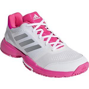 adidas(アディダス) adidas Tennis BARRICADE CLUB W OC ランニングホワイト×ショックピンクF18×リアルピンクS18 BC0387 【24.0cm】