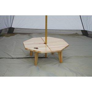 ロゴス(LOGOS)Tepeeアッセムウッドテーブル 73189100