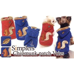 Simplers(シンプラーズ) シマリス パッチ フリース SS R14045