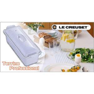 LeCreuset(ル・クルーゼ) プロフェッショナル テリーヌ 2524 28cm ホワイト