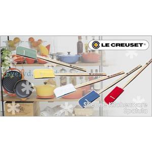 LeCreuset(ル・クルーゼ) シリコン キッチンウェア グルメ スパチュラ M 930001-02-01 ホワイト