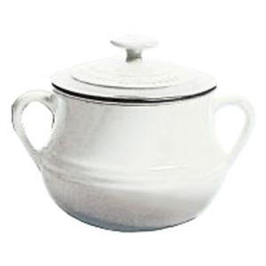 LeCreuset(ル・クルーゼ) ストーンウェア スープ ボウル 2P 910011−00−01 ホワイト