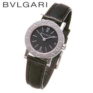 BVLGARI ブルガリブルガリ レザーウォッチ BB23SLD