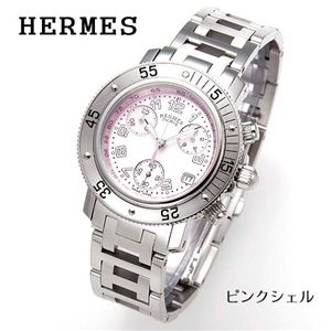 HERMES (エルメス) クリッパーダイバークロノ シェル CL2.310.214/3841/ピンクシェル