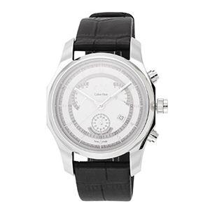 Calvin Klein(カルバンクライン) ビズクロノグラフレトログラード K77311.20 腕時計 メンズ