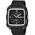 D&G ディーアンドジー 腕時計 SQUAREブラックDW0362