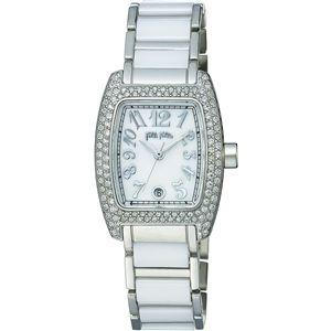 FOLLI FOLLIE フォリフォリ 腕時計 S922ZI セラミックホワイトパールWF5T135BDZ