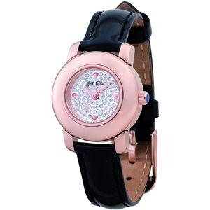 Folli Follie(フォリフォリ)  腕時計 シルバーWF9R021SSS-BLK