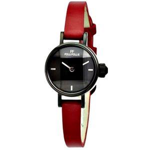 FOLLI FOLLIE フォリフォリ 腕時計 ブラックWF9Y008SPK-RED