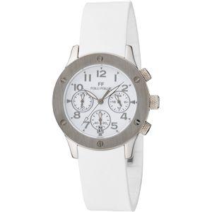 FOLLI FOLLIE フォリフォリ 腕時計 ホワイトWT6T042SEW