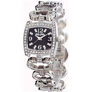 FOLLI FOLLIE フォリフォリ 腕時計 ブラックWF5T120BPA