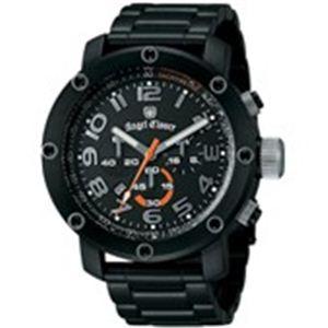 Angel Clover(エンジェルクローバー) メンズ 腕時計 エイトスター ES46BBK ブラック