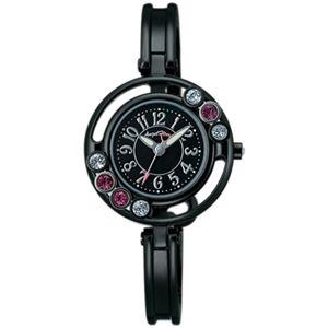 Angel Heart(エンジェルハート) レディース 腕時計 ラブスウィングリプル WL26BK-M ブラックパール