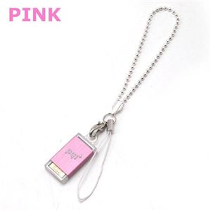 pqi USBメモリーストラップ 4GB BF07-4033(ピンク)