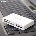 Transcend 2GB SDカード+マルチカードリーダーセット ホワイト
