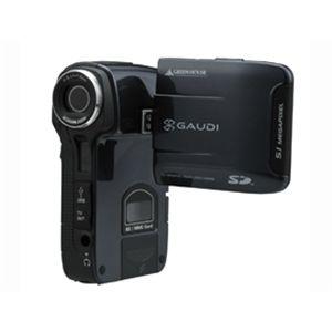 GREENHOUSE SDカード対応デジタルビデオカメラ GHV-DV24SD ブラック