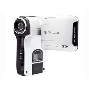 GREENHOUSE SDカード対応デジタルビデオカメラ GHV-DV24SD ホワイト