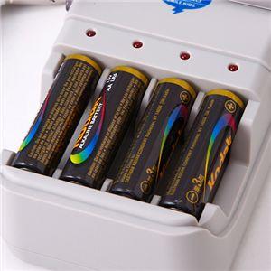 アルカリ電池充電器