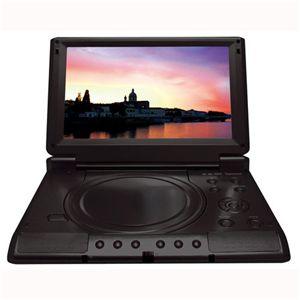 8.5インチポータブルDVDプレイヤー DS-PP85EC101 ブラック