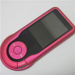 カラフルシームレスMP4プレイヤー ピンク