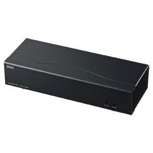 サンワサプライ フルHD対応DVIディスプレイ分配器(4分配) VGA-DVSP4