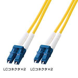 サンワサプライ 光ファイバケーブル HKB-LCLC1-05L